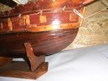 Модель парусника 66 см х 66 см, фото №13