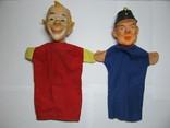 2 куклы из кукольного театра - солдат Швейка и Клоун, фото №2