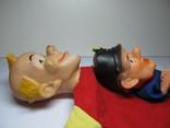 2 куклы из кукольного театра - солдат Швейка и Клоун, фото №8