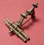 Серебряная фибула № д013