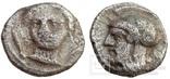 Обол Cilicia Tarsos 384-361 гг до н.э. (25_71)