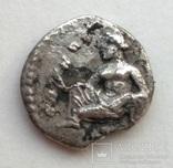 Обол Cilicia Tarsos 389-375 гг до н.э. (25_82) фото 6