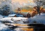 Зимушка в деревне