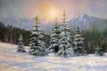 Зимушка в горах