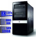Системный блок HP 4 ядра 2.33 GHz/8Gb-DDR3/HDD-320Gb