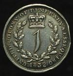 Эссекуибо и Демерара гульдер 1832 серебро photo 1
