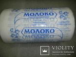 Этикетка СССР Молочный пакет  рулон заготовка для молоко СССР, фото №6