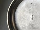 Подстаканник серебро  модерн 1918 год 200 грамм В А клеймо, фото №7
