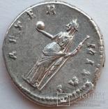 Денарий Diva Фаустина I 141 г н.э. (25_5) фото 7