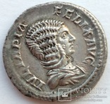 Денарий Юлия Домна 216 г н.э. (24_27) фото 2