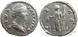 Денарий Diva Фаустина I 141 г н.э. (24_28)