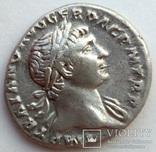 Денарий имп. Траян 107 г н.э. (24_32) фото 2