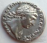 Денарий имп. Траян 107 г н.э. (24_32) фото 4