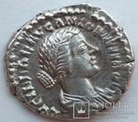 Денарий Lucilla 161-162 гг н.э. (25_6) фото 2