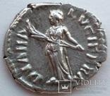 Денарий Lucilla 161-162 гг н.э. (25_6) фото 6
