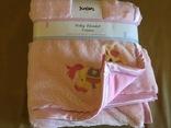 Детское одеяло плед розовое, новое, фото №9