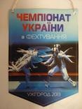 Вымпел национальная федерация фехтования Украины,, фото №3