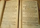 Нравственное Богословие. 2 тома. 1771 год.