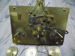 Механізм Hermle четвертного підлогового годинника, фото №2