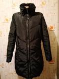 Куртка. Пальто длинное зимнее р-р прибл. XL