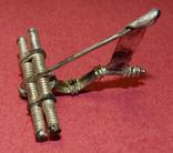 Серебряная фибула № д004 photo 4