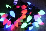 Гирлянда разноцветная , новогодняя гирлянда 40 шт. лампочек LED