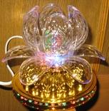 Диско светильник лилия , Диско шар ночник ., фото №10