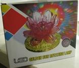 Диско светильник лилия , Диско шар ночник ., фото №11