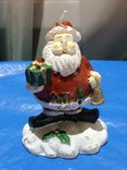 Свеча Новогодняя Дед Мороз из Германии, фото №2