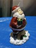 Свеча Новогодняя Дед Мороз из Германии, фото №3