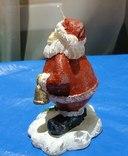 Свеча Новогодняя Дед Мороз из Германии, фото №4