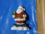 Свеча Новогодняя Дед Мороз из Германии, фото №5
