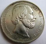 Нидерланды, 2,5 гульдена 1872 ''WILLEM III'' -