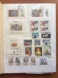 Большой альбом негашеных марок, серий, блоков Чехословакии. 862 шт.