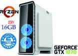 Игровой компьютер NG Ryzen 5 1600 G4 (Ryzen 5 1600 /DDR4 - 16Gb//GTX1070), фото №2