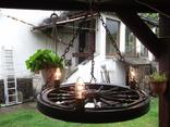 Лампа колесо, фото №2
