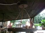 Лампа колесо, фото №4