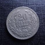 20 филлеров 1908    (3.2.25)~, фото №3