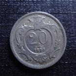 20 геллеров 1893 Австро-Венгрия   (3.2.26)~, фото №3
