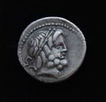 Процилиq 80 год до н.е. Юпитер и Юнона с копьем и щитом (серебро 3.82 г) photo 1