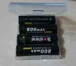 Аккумулятор 14500 Soshine 800mah 3,7V с защитой photo 3