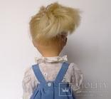 Кукла блондинка в голубом платье с вышивкой., фото №9