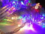 Новорічна гірлянда«Нитка» на 100 лампочок LED .Новогодняя гирлянда., фото №5