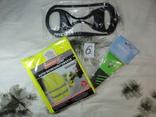 (Лот№6) 3 предмета: Ледоступы,скребок для очистки льда,светоотражающий жилет photo 2