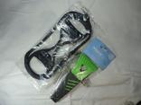 (Лот№6) 3 предмета: Ледоступы,скребок для очистки льда,светоотражающий жилет photo 3