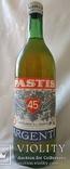 Pastis Argenti 1 литр , 45°креп. 1969 год