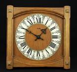 Настенные кварцевые часы Zentra с механизмом Junghans. Винтаж. Германия. (0984)