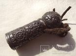Серебряная ручка печати, Тибет, 19 век., фото №2