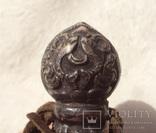 Серебряная ручка печати, Тибет, 19 век., фото №10