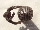 Серебряная ручка печати, Тибет, 19 век., фото №11
